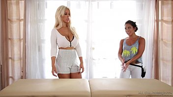 Girly time with Bridgette B and Morgan Lee - All Girl Massage thumbnail