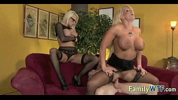 Mom and daughter threesome 0011