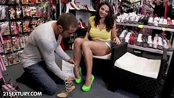 Shoe store porn