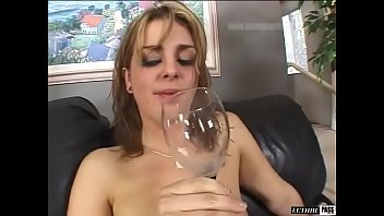 Dirty English Strumpet Isabel Ice Loves Drink Spunk Out Of Her Own Arse!  VERY NAUGHTY!!