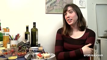 Frisky Fiona Works Hairy Pussy with New Dildo thumbnail