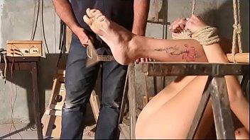 Luna in falaka and feet torture