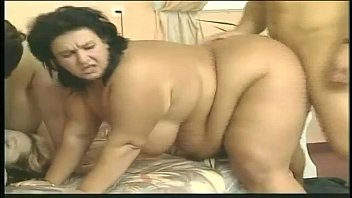 xxarxx German BBW Matures screwing 2 young guys