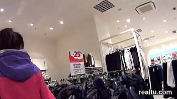 Stellar czech sweetie gets seduced in the hypermarket and poked in pov