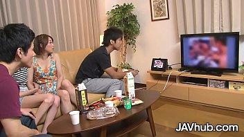 XVIDEO JAVHUB Japanese foursome with Hinata Hyuga and Haruka Sasano
