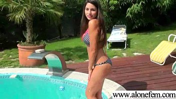 Hot Babe Girl Masrturbate With Toys On Tape clip-36
