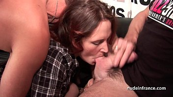thumb Hard Casting French Redhead Analized And Double