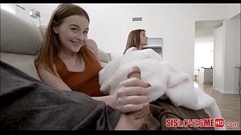 Hot PAWG Jealous Step Sister Wants Her Stepbrothers Big Dick