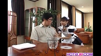 thumb Pretty Asian Maid Natsumi Exposes Hot Pussy For Fingering
