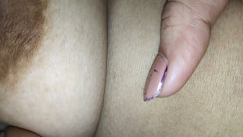 Desi small nipples boobs pressed in goa...