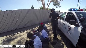cover video Screw The Cops White Female Cop Fucked By Three Bbc