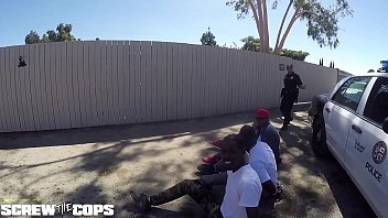thumb Screw The Cops White Female Cop Fucked By Three Bbc