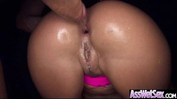 Oiled All Up Big Butt Girl Take It In Her Ass clip-14