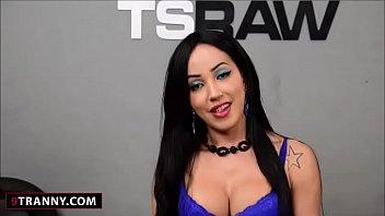 Shemale Thais Tavares Hardcore Gangbang
