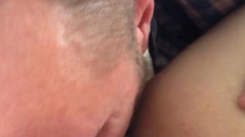 Licking my slut to orgasm
