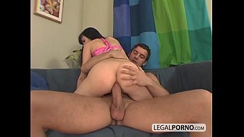 Nasty brunette taking everything in her ass WK-5-03