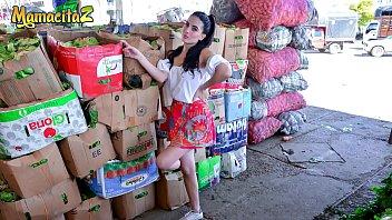 mamacitaz - picked up from the market and fucked hardcore - karol higuita