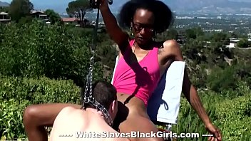 Ebony Maya Enjoys Outdoors And Oral