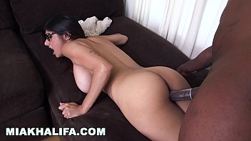 Mia Khalifa   L ebanese Beauty Pushing Her Ass Pushing Her Ass Back Onto The Bbc
