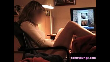 Teen Watching Cock on Webcam and Masturbate: Free Porn a7