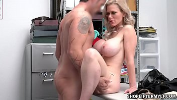 Download video sex new Big tits blonde MILF thief Casca Akashova begs for her freedom after being caught by a police officer period HD