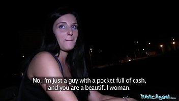 Public Agent Blue Eyed Slut Fucked In Public By A Fat Cock
