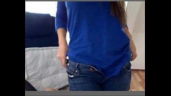 Very hot blonde teen masturbating on webcam - camparadise.net