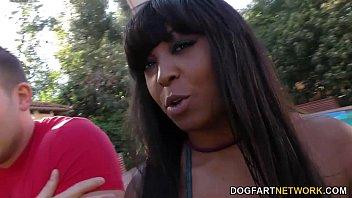 Busty Ebony Rachel Raxxx Gets Gangbanged  #11079