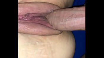 Thick cock fat pussy balls deep cum inside wet hole