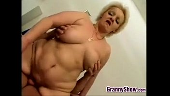 Chubby Granny Being Fucked