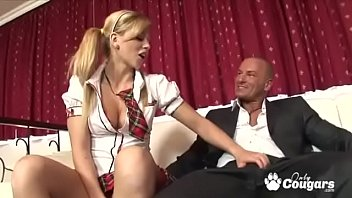Naughty schoolgirl Brooklyn Lee Nailed By Teacher