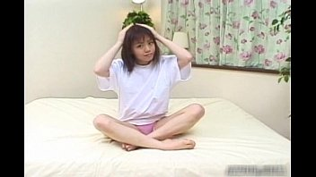 Japanese teen girl showing of her pink