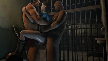 Hot monsters bondage fuck...