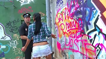 Babe Busted By  The Cops And Punished Hard nished Hard