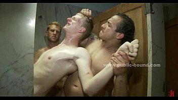 Forced gay group sex