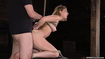 Blonde with balls and cock...