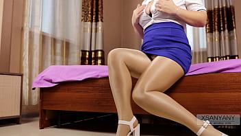 Shiny pantyhose 100% xSanyAny