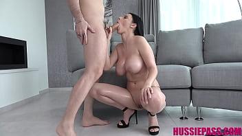Busty Slut Nelly Kent Takes It In The Butt