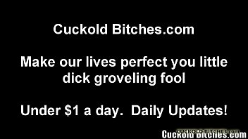 You are going to be my new cuckold slave boy