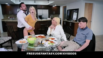 Free Use Family Porn - Fucked Hard While Trying to Eat Dinner - FreeUse Fantasy (Kylie Kingston) (Kenna James)
