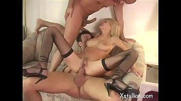 Double penetration of a single whore Vol. 7