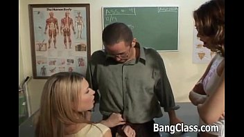 Teacher Fucking  2 Sexy Schoolgirls irls