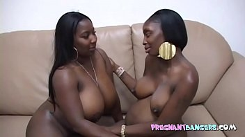 BBW with pregnant ebony