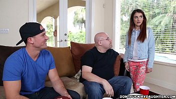 Teen Sally Squi rt Gets Dicked Down By Daddy&# Down By Daddy's Friend  (dfmd14980)