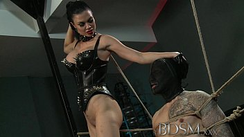 There are busty dominatrix seduces boy idea