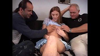 xxarxx Pregnant redhead girl joins lucious bacchanalia