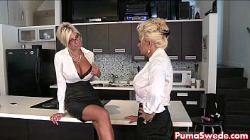 Puma Swede & Bobbi Eden are the Lesbian Office Slut!