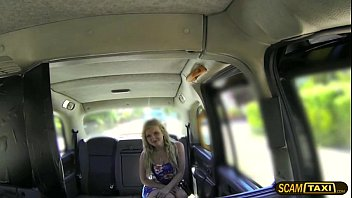 Hottie blonde Canadian slut pays anal sex for taxi ride thumbnail