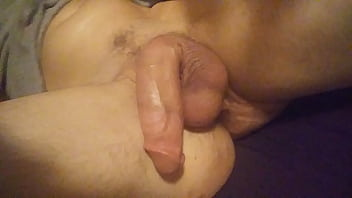 Jerking off for sis