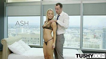 thumb Tushy Blonde Escort Ash Hollywood Gives Up Her